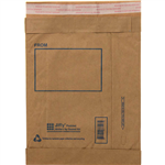 JIFFY PADDED MAILER BAG 240 X 340MM SIZE 4 KRAFT PACK 10