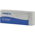 INITIATIVE ERASER PVC FREE LARGE WHITE