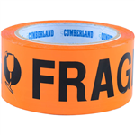 FRAGILE PACKAGING TAPE  48MM X 66M 7053476