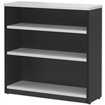 OXLEY BOOKCASE 3 SHELF 900 X 315 X 900MM WHITEIRONSTONE