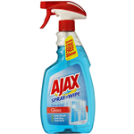 AJAX SPRAY N WIPE GLASS CLEANER TRIPLE ACTION TRIGGER 500ML
