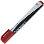 INITIATIVE PERMANENT MARKER BULLET 15MM RED