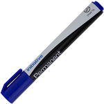 INITIATIVE PERMANENT MARKER CHISEL 50MM BLUE
