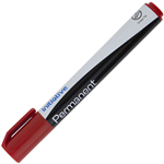 INITIATIVE PERMANENT MARKER CHISEL 50MM RED