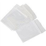 CUMBERLAND PRESS SEAL PLASTIC BAG 40 MICRON 125 X 205MM CLEAR PACK 100