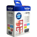 BROTHER LC3319XL3PK INK CARTRIDGE HIGH YIELD VALUE PACK CYANMAGENTAYELLOW