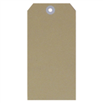 ESSELTE SHIPPING TAGS SIZE 5 60 X 120MM BUFF BOX 1000