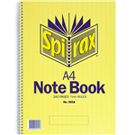 SPIRAX 595A NOTEBOOK SPIRAL BOUND 7MM RULED 240 PAGE A4