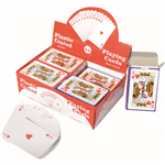 CUMBERLAND PLAYING CARDS PLASTIC COATED PACK 12