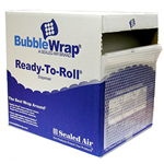 SEALED AIR AIRLITE BUBBLE WRAP 750MM PERFORATED ROLL 350MM X 50M CLEAR