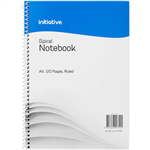 INITIATIVE SPIRAL NOTEBOOK SIDE BOUND A4 120 PAGE
