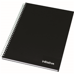INITIATIVE TWINWIRE NOTEBOOK A4 160 PAGE