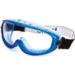 BOLLE SAFETY ATOM SAFETY GOGGLE CLEAR LENS INDIRECT VENTS