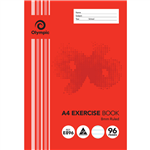 OLYMPIC E896 EXERCISE BOOK 8MM RULED 55GSM 96 PAGE A4