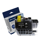 COMPATIBLE BROTHER LC3311BKLC3313BK INK CARTRIDGE HIGH YIELD BLACK