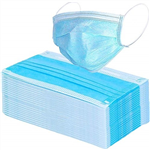 3PLY BLUE DISPOSABLE MASK BX50